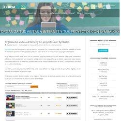Organiza tus visitas a Internet y tus proyectos con Symbaloo