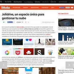 Organiza tus servicios online con Jolidrive