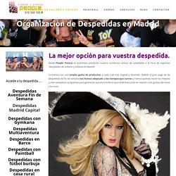 Organización de Despedidas de soltero y Soltera en Madrid