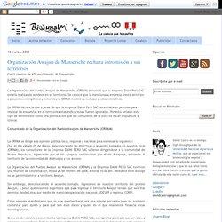 Organización Awajun de Manseriche rechaza intromisión a sus territorios