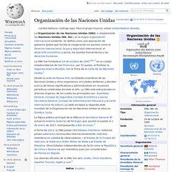Organización de las Naciones Unidas - Wikipedia, la ...
