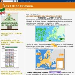 Las TIC en Primaria: LA ORGANIZACIÓN DEL TERRITORIO ( VIII )