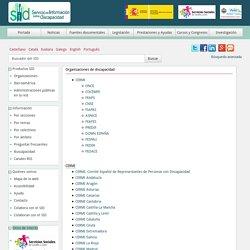 SID - Organizaciones de discapacidad