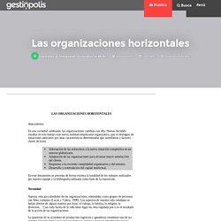 Las organizaciones horizontales