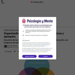 Organizadores gráficos: tipos, características y ejemplos