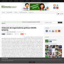 Colección de organizadores gráficos CAUSA EFECTO