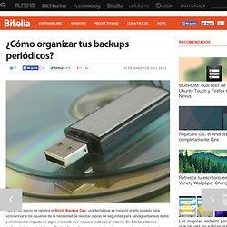 ¿Cómo organizar tus backups periódicos?
