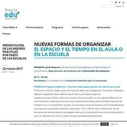 Nuevas formas de organizar el espacio y el tiempo en el aula o en la escuela - ITWorldEdu WP