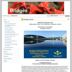 Bridges: art and math