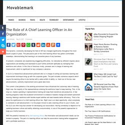 The Role of A Chief Learning Officer in An Organization - Movablemark