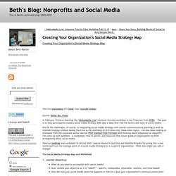 Beth's Blog: How Nonprofits Can Use Social Media: Creating