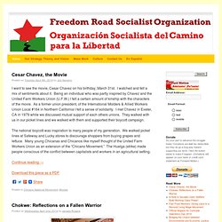 Freedom Road Socialist Organization | Main
