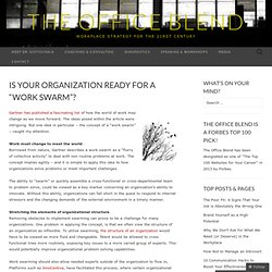 "Is your organization ready to ""swarm""?"