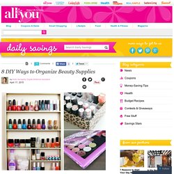 Makeup Organization – Organization Tips
