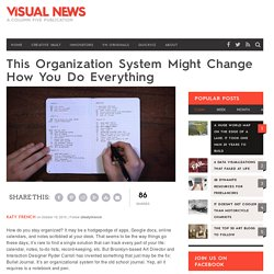 This Organization System Might Change How You Do Everything