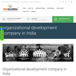 organizational development company in India