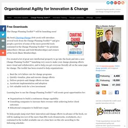 Organizational Agility for Innovation & Change