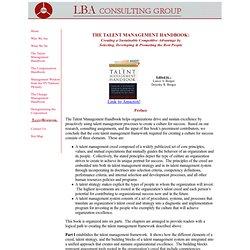 talent management handbook berger pdf