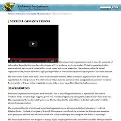 Virtual organization taylor ambulance company