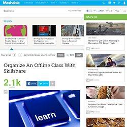 Organize An Offline Class With Skillshare