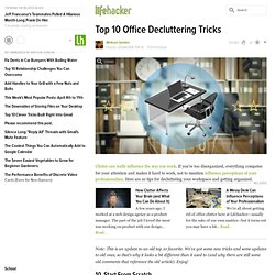 Top 10 Ways to Organize and Streamline Your Workspace