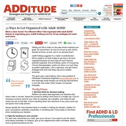 ADDitude - Attention Deficit Information and Resources