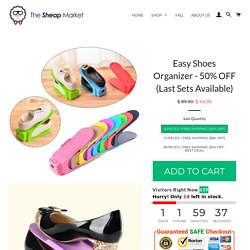Easy Shoes Organizer - 50% OFF (Last Sets Available) – The Sheap Market