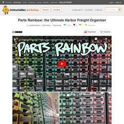 Parts Rainbow: the Ultimate Harbor Freight Organizer : 6 Steps (with Pictures) - Instructables