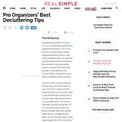 Pro Organizers' Best Decluttering Tips