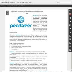 Pearltrees: organizzare le informazioni reperibili sul web