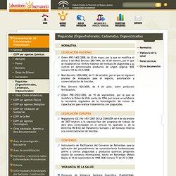 Plaguicidas (Órganofosforados, Carbamatos, Organoclorados)