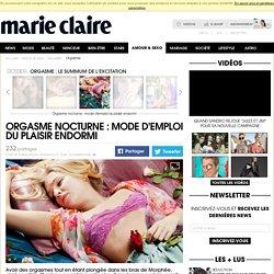 Orgasme nocturne: avoir un orgasme en dormant