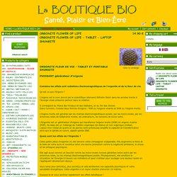 <B>ORGONITE FLOWER OF LIFE</B><BR>ORGONITE FLOWER OF LIFE - TABLET LAPTOP<br>SHU