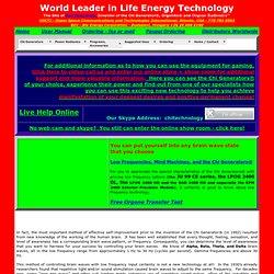 Orgonite Chi Generators to boost personal energy