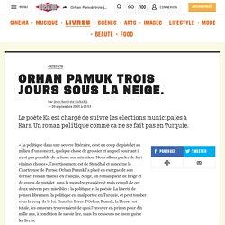 Article de presse sur le livre d'Orhan Pamuk