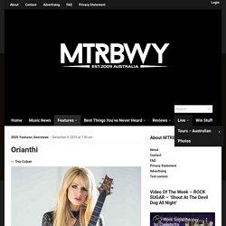 Orianthi - maytherockbewithyou.com