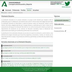 Orientación educativa - Consejería de Educación