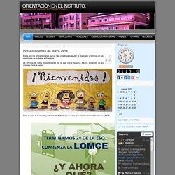 ORIENTACIÓN EN EL INSTITUTO.