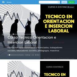 Curso Tecnico Orientacion e Insercion Laboral (with image) · Animacion