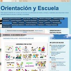 Orientación y Escuela: Educación Secundaria