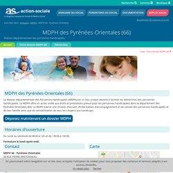 MDPH des Pyrénées-Orientales (66) : Accueil des personnes handicapées.
