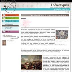 Archives d'Abbadia - Notice thématique : L'Orientalisme dans l'art et l'architecture du XIXe siècle