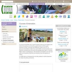 Courses d'orientation - Communauté d'Agglomération Royan Atlantique