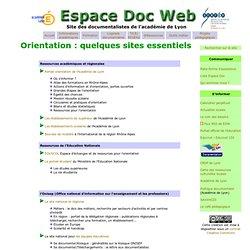 Métier Ressources Orientation Espacedocweb