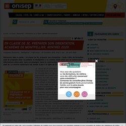 Guide ONISEP En classe de 3e, préparer son orientation, académie de Montpellier, rentrée 2020