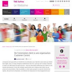 De l'orientation client à une organisation Customer Centric - TNS Sofres
