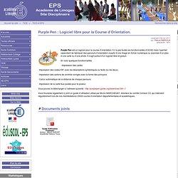 Purple Pen : Logiciel libre pour la Course d'Orientation. - Site des professeurs d'EPS du Limousin