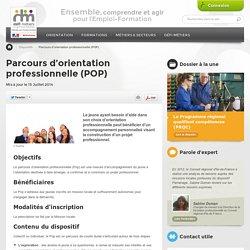 Parcours d'orientation professionnelle (POP)