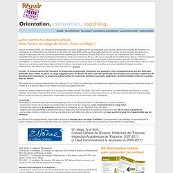 Coaching & insertion avec Réussir Moi Aussi : programme d'aide à la scolarité, à l'orientation et à l'insertion professionnelle