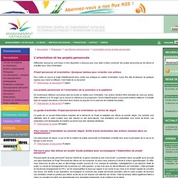 Outils pour l'orientation & les projets personnels ds le secondaire (enseignement catholique Belgique)